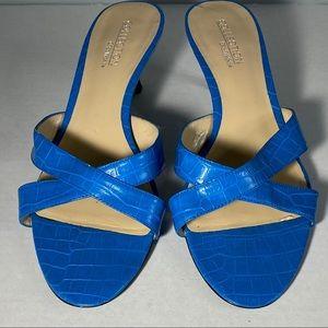 Chadwicks blue heels size 9W